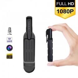 Kamera skrytá v pere so vstavaným mikrofónom, kvalitné FULL HD video, dlhá výdrž batérie