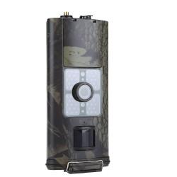 3G Kamuflážna fotopasca so zasielaním MMS správ a emailov + Solárny panel s batériou