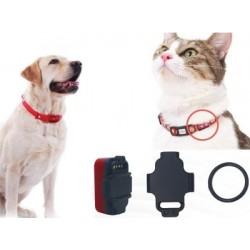 Gps tracker pre mačky a psy – miniatúrny, špeciálne režimy, pohybový senzor, opustenie zóny, LED svetlo