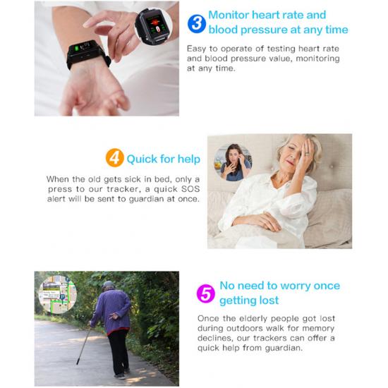 Hodinky s mobilom a GPS, LBS, WiFi monitoringom výskytu a pohybu osôb