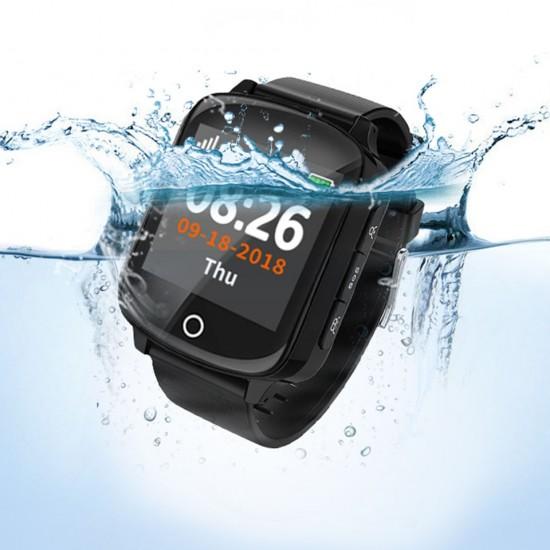 Vodotesné hodinky s GPS trackerom na sledovanie pohybu