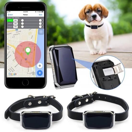 GPS tracker pre psov a mačky (GPS, WiFi a LBS lokalizácia)