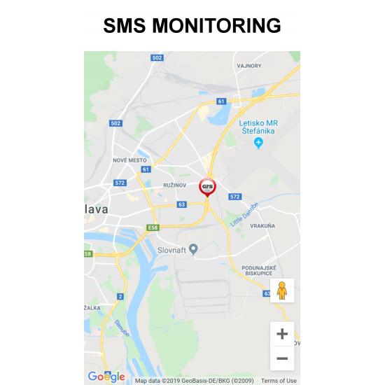 Profesionálny mini GPS tracker